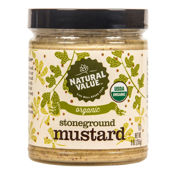 Organic Stone Ground Mustard - 9 oz.