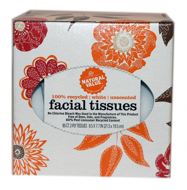 Face Tissue - 2 Ply - 85 Count