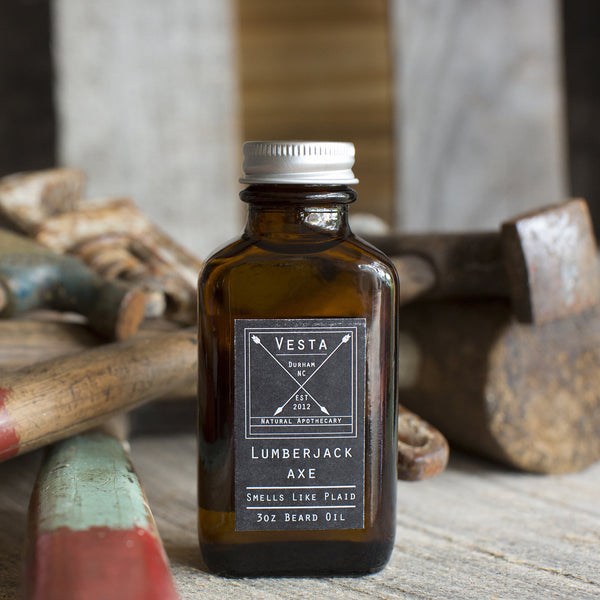 Lumberjack Axe Beard Oil - 3 oz.