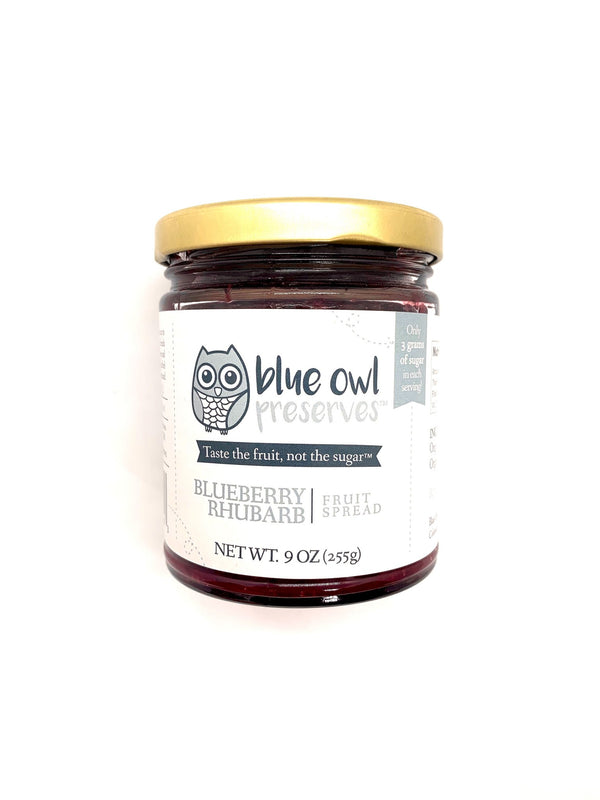 Blueberry Rhubarb Fruit Spread - 9 oz.