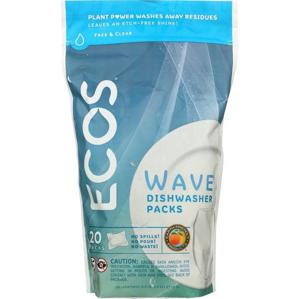 Wave Dishwasher Pods - 20 Pack