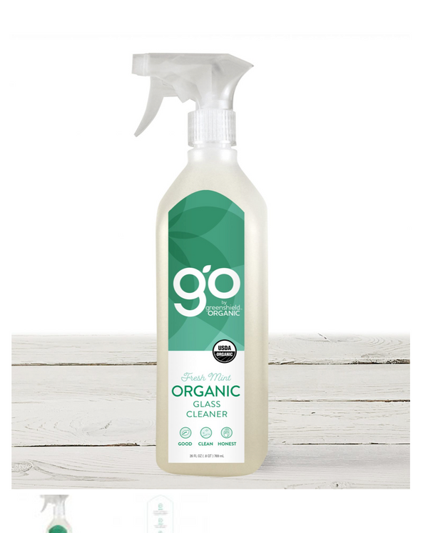 Organic Glass Cleaner - Fresh Mint - 26 oz.