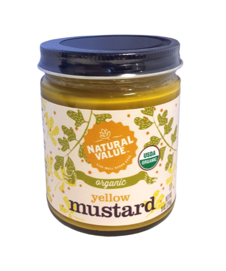 Organic Yellow Mustared - 9 oz.