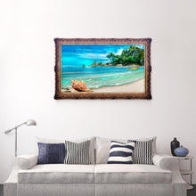 Load image into Gallery viewer, Island Drill Diamond Painting 40X30CM(Canvas)