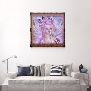 Faery Butterfly Drill Diamond Painting 40X40CM(Canvas)