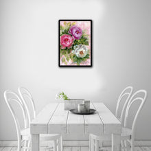 Load image into Gallery viewer, Flower Round Drill Diamond Painting 30X40CM(Canvas)