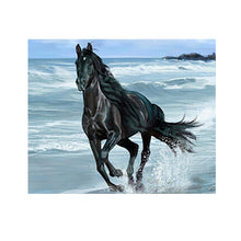Load image into Gallery viewer, Running Horse Round Drill Diamond Painting 40X30CM(Canvas)