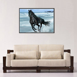 Running Horse Round Drill Diamond Painting 40X30CM(Canvas)