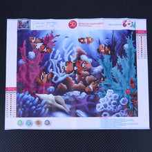 Load image into Gallery viewer, Underwater World Round Drill Diamond Painting 40X30CM(Canvas)