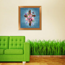 Load image into Gallery viewer, Flower Round Drill Diamond Painting 30X30CM(Canvas)