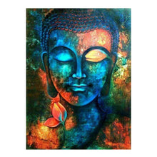 Load image into Gallery viewer, Buddha Religous Part Drill Diamond Painting 30X40CM(Canvas)