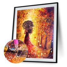 Load image into Gallery viewer, 5D Full Drill DIY Diamond Painting Woman Back Cross Stitch Home Decoration