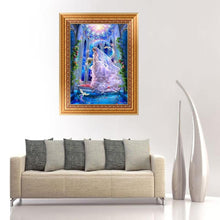 Load image into Gallery viewer, Wedding Beauty Round Drill Diamond Painting 30X40CM(Canvas)