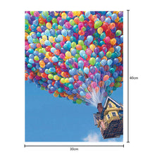 Load image into Gallery viewer, Balloon House Part Drill Diamond Painting 30X40CM(Canvas)