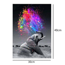 Load image into Gallery viewer, Elephant Drill Diamond Painting 30X40CM(Canvas)