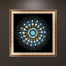 Load image into Gallery viewer, Flower Round Full Drill Diamond Painting 30X30CM(Canvas)