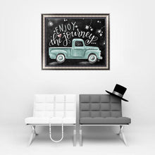 Load image into Gallery viewer, Blackboard Green Car Square Drill Diamond Painting 30X25CM(Canvas)