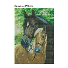Load image into Gallery viewer, Horses Square Full Drill Diamond Painting 30X40CM(Canvas)