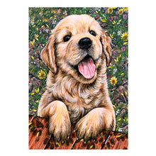 Load image into Gallery viewer, Dog Square Full Drill Diamond Painting 30X40CM(Canvas)