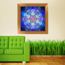 Load image into Gallery viewer, Dreamy Flower Paint Round Full Drill Diamond Painting 30X30CM(Canvas)