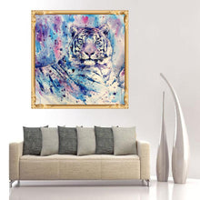 Load image into Gallery viewer, Animal Round Full Drill Diamond Painting 30X30CM(Canvas)