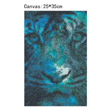 Load image into Gallery viewer, Tiger Square Full Drill Diamond Painting 25X35CM(Canvas)