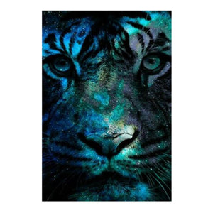 Tiger Square Full Drill Diamond Painting 25X35CM(Canvas)