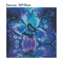 Load image into Gallery viewer, Butterfly Square Full Drill Diamond Painting 30X30CM(Canvas)