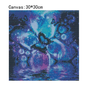 Butterfly Square Full Drill Diamond Painting 30X30CM(Canvas)