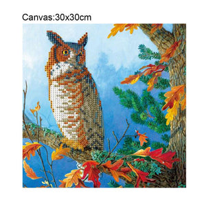 Bird Square Drill Diamond Painting 30X30CM(Canvas)