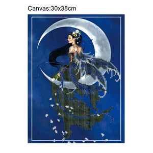 Beauty Square Drill Diamond Painting 30X38CM(Canvas)