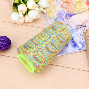 Rainbow Cross Stitch Sewing Threads Textile Yarn Woven Embroidery Line(D)