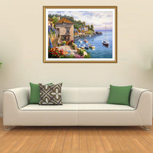Load image into Gallery viewer, Scenery Round Full Drill Diamond Painting 40X30CM(Canvas)