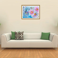 Load image into Gallery viewer, Flower Round Drill Diamond Painting 40X30CM(Canvas)