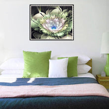 Load image into Gallery viewer, Dreamy Flower Round Full Drill Diamond Painting 30X25CM(Canvas)