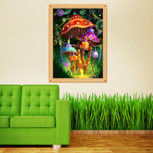 Load image into Gallery viewer, Mushroom Decorate Round Drill Diamond Painting 30X40CM(Canvas)