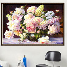 Load image into Gallery viewer, Warm Flowers Square Full Drill Diamond Painting 40X30CM(Canvas)