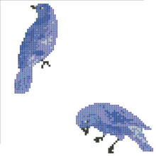 Load image into Gallery viewer, 2 Birds Round Drill Diamond Painting 30X30CM(Canvas)