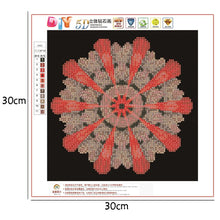 Load image into Gallery viewer, Colorful Round Drill Diamond Painting 30X30CM(Canvas)