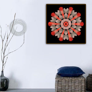 Colorful Round Drill Diamond Painting 30X30CM(Canvas)