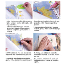 Load image into Gallery viewer, 20pcs DIY Diamond Painting Point Drill Pens Cross Stitch Embroidery Toolkit