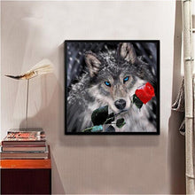 Load image into Gallery viewer, Animal Round Drill Diamond Painting 30X30CM(Canvas)