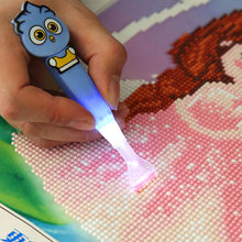 Load image into Gallery viewer, 5D Diamond Painting Cross Stitch Luminous Point Drill Pen(Blue/6 Heads)
