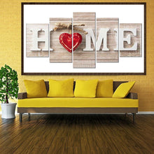 Load image into Gallery viewer, Love Home 5D DIY Full Drill Diamond Painting Cross Stitch Needlework ?Kit