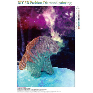 C Round Part Drill Diamond Painting 30X40CM(Canvas)