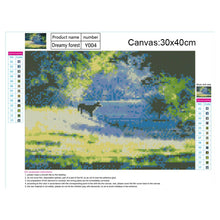 Load image into Gallery viewer, Landscape Round Full Drill Diamond Painting 30X40CM(Canvas)