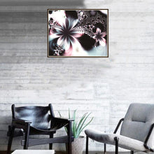 Load image into Gallery viewer, Novel Flower Round Full Drill Diamond Painting 30X25CM(Canvas)