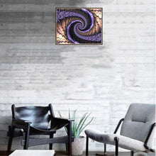 Load image into Gallery viewer, Whirlwind Round Full Drill Diamond Painting 30X25CM(Canvas)