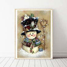 Load image into Gallery viewer, Xmas Snowman Full Drill Diamond Painting 30X40CM(Canvas)