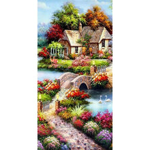 Load image into Gallery viewer, 5D DIY Full Drill Diamond Painting Landscape (85X45cm) (canvas)